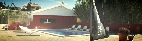 Surfcamp Portugal - Surfvilla mit pool