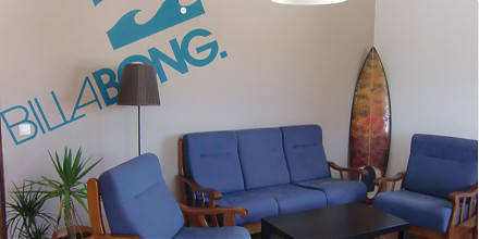 3 big living rooms waiting for you in the Deluxe Surfhouse Algarve